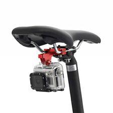 Para GoPro 8 Monte de bicicletas Asiento Cojín Clip para Xiaomi Yi 4K Gopro Hero 7 6 5 4