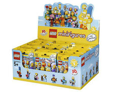 BOX 60 BUSTINE  LEGO MINIFIGURES  71009 SERIE THE SIMPSON SIMPSONS  SERIE 2 NEW