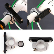 1X Kettle Rack Adapter Bicycle Bike Cycling HandleBar Clamp On Water Bottle Cage