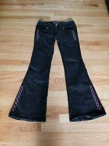 Hot Topic Tripp NYC Pants Black Pink Size 7