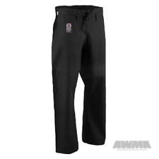 NEW! ProForce Gladiator 12 oz. Karate Pant (Traditional Drawstring) Black White