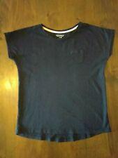 Tee shirt Noir coton Bio MONOPRIX 12 ans tbe