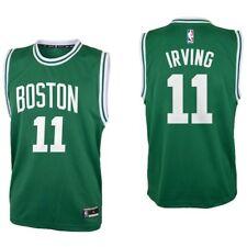 Kyrie Irving Boston Celtics Green Authentic Road Jersey (Youth Medium 10/12)
