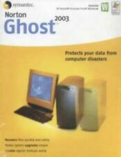 Norton Ghost 2003 PC CD protect computer hard drive data imaging protection tool