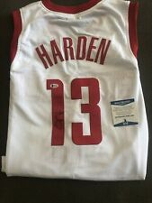 JAMES HARDEN - Houston Rockets - Autographed Jersey - Beckett Certified Auto COA