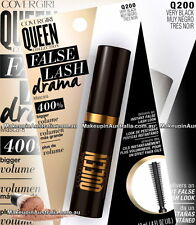 Q200 Very Black, Covergirl Queen Collection False Lash Drama Mascara (washable)