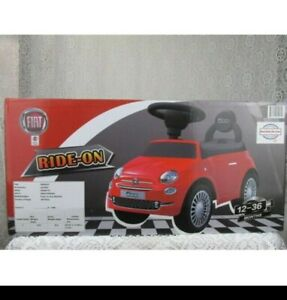 Best Ride On Cars Fiat 500 Car - red