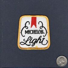 Michelob Light Bière Compagnie Original Brewery Publicité Chapeau Veste Patch