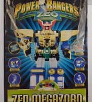 Vintage 1996 Bandai Power Rangers Deluxe ZEO Megazord ~ In Original Box