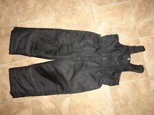 Boys/Girls HealthTex Black Ski/Snow Bib Overalls Size 3T