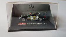 Mercedes CLK DTM 2002 Startnummer 6-Fahrer MARCEL FÄSSLER-- Vitrine-SCHUCO 1:87