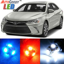 12 x Premium Xenon White LED Lights Interior Package Kit for Toyota Camry + Tool
