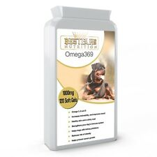 Bestia K9 Nutrition Omega 369 for large dogs. Special formula. UK manufactured