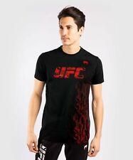 UFC T-SHIRT VENUM AUTHENTIC FIGHT WEEK MEN'S SHORT SLEEVE T-SHIRT - BLACK LIMIT