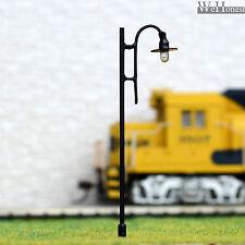 20 pcs HO or OO scale Model Lamp post 12V street light Layout Scenery Lamp #316