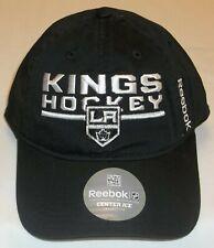 NHL Los Angeles Kings Slouch Snapback Hat by Reebok - Adult Osfa - New