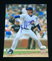 Neal Cotts Chicago Cubs Signed Autograph 8x10 Photo JSA COA