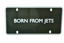 Saab BORN FROM JETS Vanity Plate 0200220