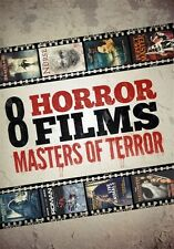 8 Horror Films - Masters of Terror Collection (DVD, 2012, 2-Disc Set)