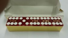 """Casino Quality Sand Finished Red Stick of 5 Precision Dice 3/4"""" A Grade New"""
