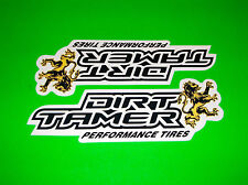 DIRT TAMER ATV UTV QUAD PERFORMANCE TIRES YAMAHA SUZUKI HONDA STICKERS DECALS