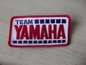 TEAM YAMAHA MITSUI YZR TZ ORIGINAL PERIOD VINTAGE NOS SEW ON PATCH BADGE 70s 80s