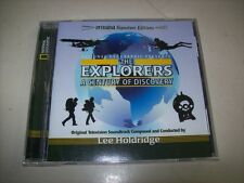 CD - THE EXPLORERS A CENTURY OF DISCOVERY - LIMITED - SEALED - INTRADA
