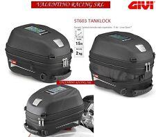 Givi Sport-t Range 15 LT Tanklock tanque bolso Expandable/universal