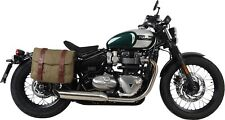 TRIUMPH BOBBER  HEPCO AND BECKER LEGACY PANNIERS WITH C-BOW FITTING KIT