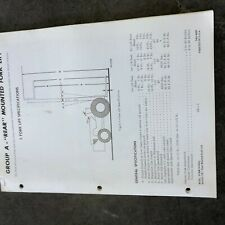 CASE FORKLIFT SERVICE MANUAL TRACTOR
