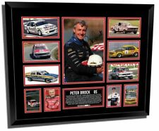 PETER BROCK SIGNED LIMITED EDITION FRAMED MEMORABILIA