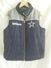 NFL Dallas Cowboys Blue puffy vest size medium