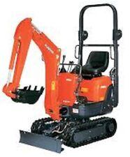 Micro & Mini Digger Hire Kubota K008 or KX36  £45 Per Day 700mm Wide or 1.5 Ton