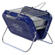 Gentlemen's Hardware - Bleu valise style portable barbecue en boite présentation
