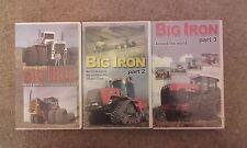 Big Iron partie 1,2,3 VHS Grande puissantes Machines Agricoles Tracteurs