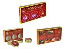 Monogamy Massage Candles - 3 Pack chocolate strawberry amber candle hot affair