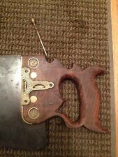 ANTIQUE 1858 DISSTON & MORSS NO. 43 COMBINATION SAW SQUARE IN HANDLE RARE TOOL