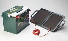 Solar Car Battery Charger | PV Logic Solar Fold Up 12V Battery Charger