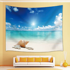 Tropical beach shells Tapestry Wall Hanging for Living Room Bedroom Dorm Decor