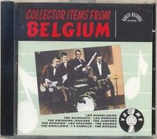 COLLECTOR ITEMS OF BELGIUM / RARE CD early 60s music / r&r / beat VOL. 1