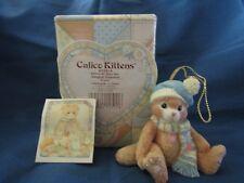 Calico Kittens Christmas Ornament # 623814 Priscilla Hillman 1993 Figurine