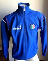 Completo maglia italia 90 diadora felpa jacke giacca jacket tuta pants rare