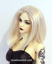 "1/3 bjd 7-8"" doll wig blonde long bob style dollfie luts iplehouse W-JD078SM202M"