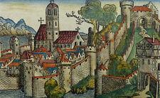 AMAZONEN KRIEGERINNEN AMASONIA ALBANIEN SCHEDEL INKUNABEL WELTCHRONIK 1493