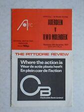 Aberdeen v Molenbeek 1977/78 UEFA Cup