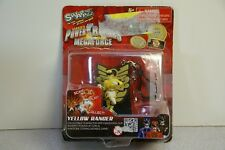 2013 Swappz Power Rangers Megaforce Yellow Ranger Keychain w/ Power-Up Coin
