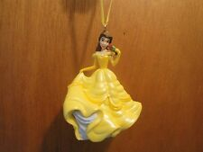 DISNEY BEAUTY AND THE BEAST CUSTOM MADE BELLE PVC CHRISTMAS ORNAMENT