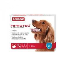 FIPROTEC Antiparassitario Cani 10-20kg Fipronil antipulci antizecche 3 pipetten