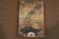 Sir John Fielding: Death of a Colonial by Bruce Alexander (1999, Hardcover)