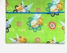 Toddler Pillowcase for Tinkerbell on Lime Green 100%Cotton #Tb22 New Handmade